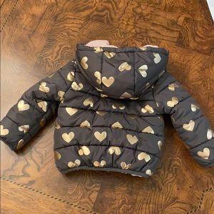 Carter's heavyweight winter jacket sz 2T